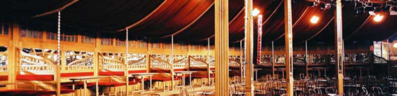Spiegeltent hire - Magic mirror